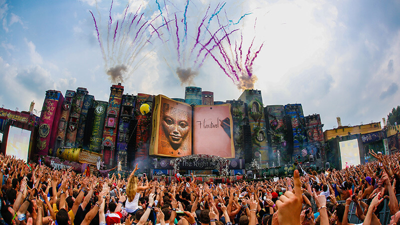 Welcome - Festival - Tomorrowland Tomorrowland 2012 Wallpaper