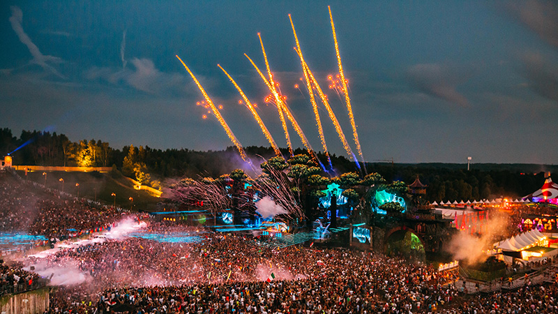 tomorrowland - Europe Summer Festivals